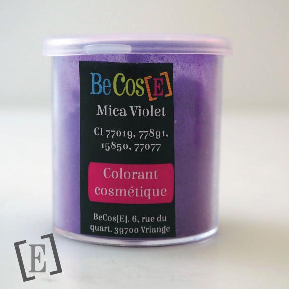 Mica violet électrique